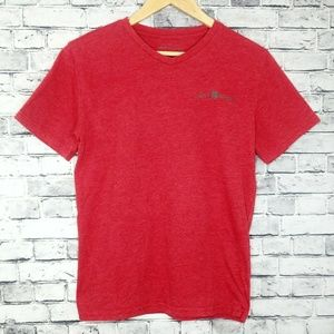 Lucky Brand Classic Red Short Sleeve Tshirt Top